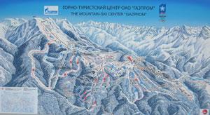 Красная Поляна - Сочи - Газпром -  трассы